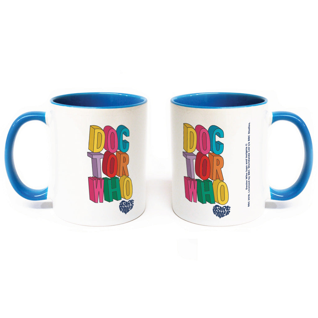 Thirteenth Doctor Stacked Colour Insert Mug