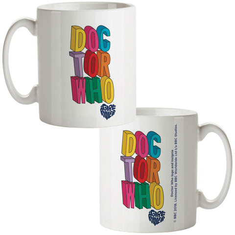 Thirteenth Doctor Stacked Mug