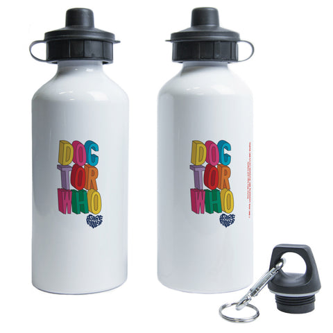 Thirteenth Doctor Stacked Water Bottle