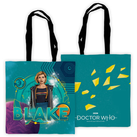 Thirteenth Doctor Personalised Edge to Edge Tote
