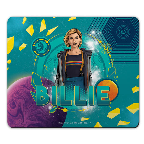 Thirteenth Doctor Personalised Mousemat