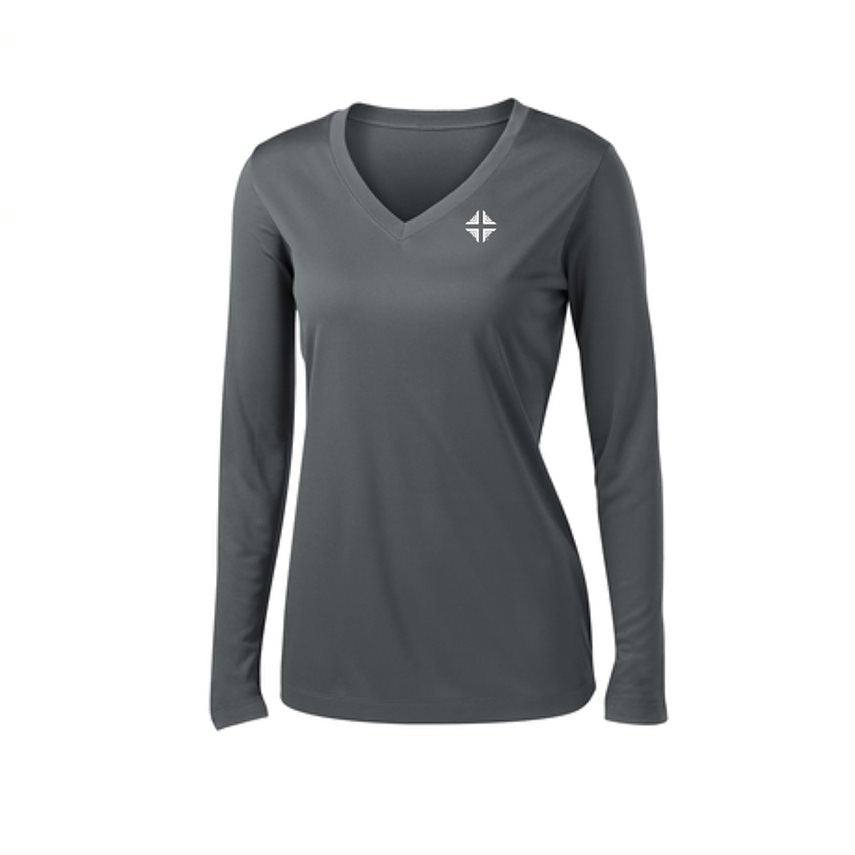 Shirt: Performance Female Gray DV