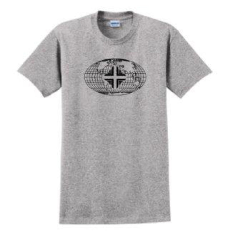 T-Shirt: Youth Grey WW