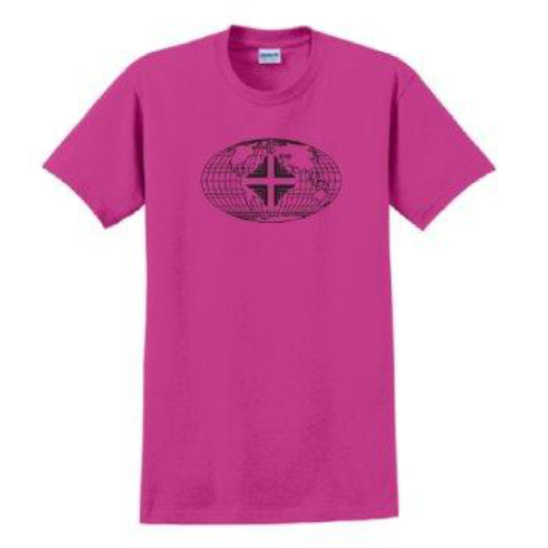 T-Shirt: Youth Pink WW