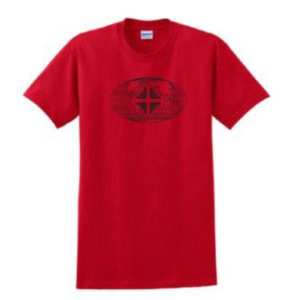T-Shirt: Youth Red WW