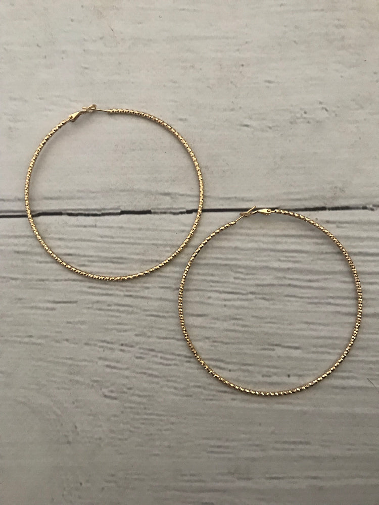 Céline - Gold Hoops