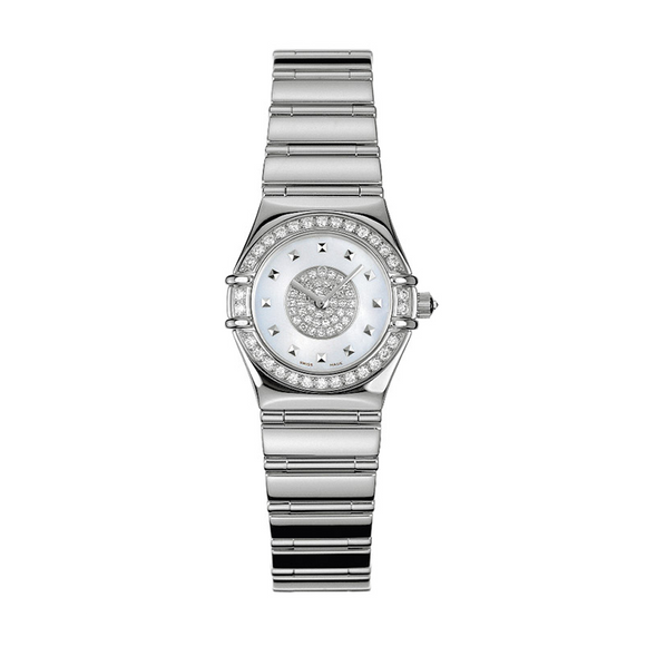 Omega Specialties White Gold Quartz Diamond Constellation