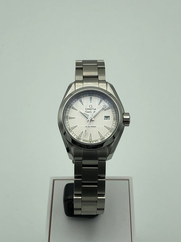 Omega Seamaster Aqua Terra 150m Quartz Stainless Steel Ladies Watch 231.10.30.60.02.001