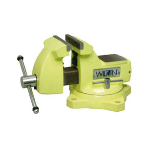 "Wilton 63187 1550, High-Visibility Safety 5"" Vise with Swivel Base"