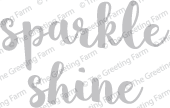 Sparkle & Shine - Die Cuts