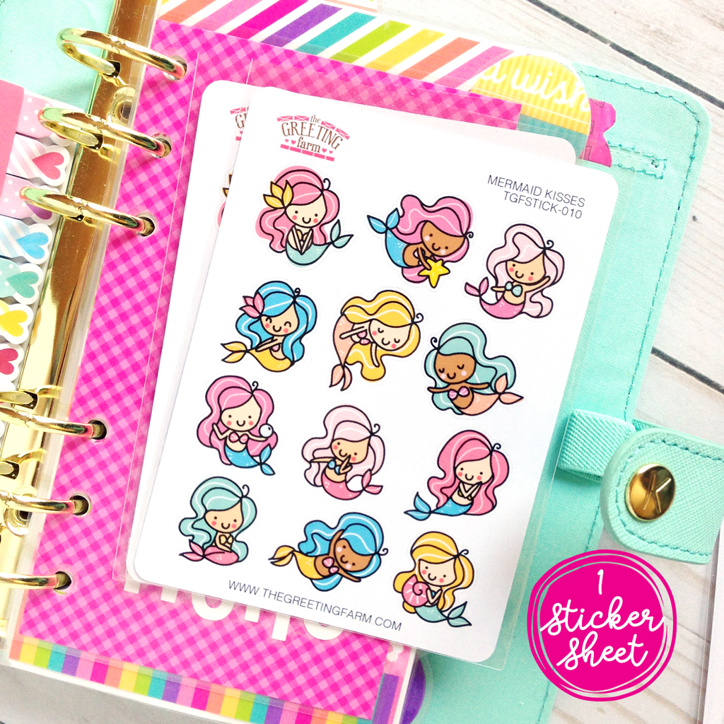 Mermaid Kisses - Stickers