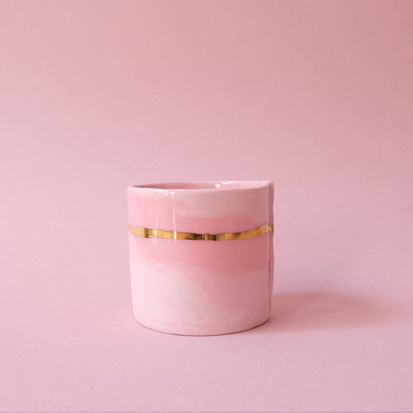 From:fran - Marbled Rose Double Espresso Cup