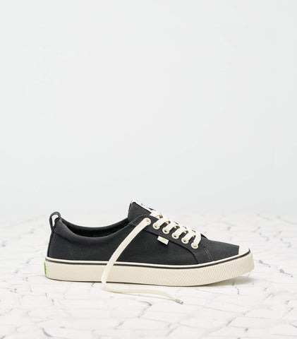 OCA Low Stripe Canvas Black Men