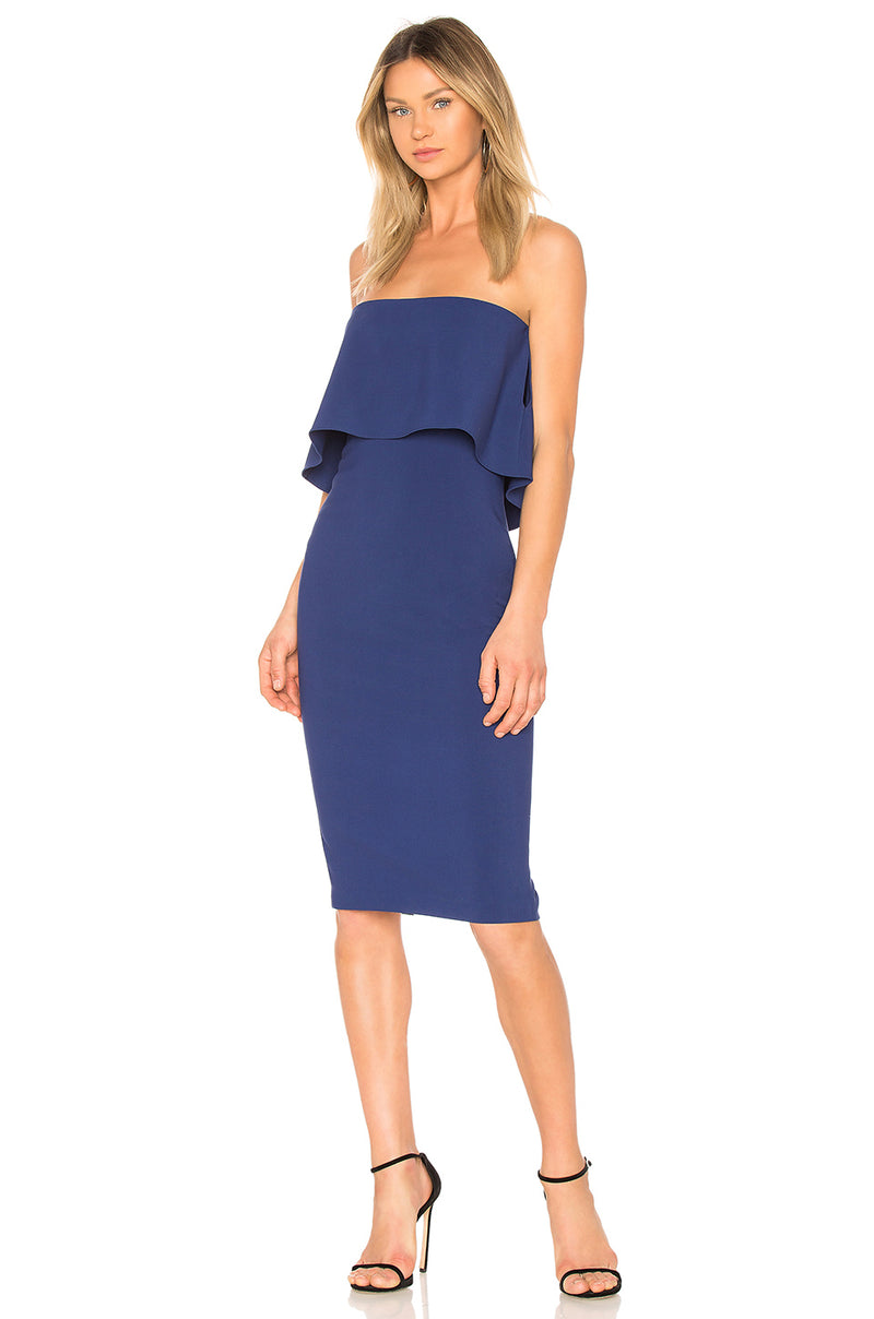 Driggs Dress Dark Blue. Robe Driggs bleu