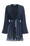 MISHA COLLECTION Mini robe avec col en v