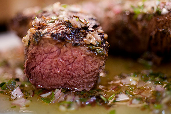 Grass Fed Top Sirloin With Herb Marinade Recipe