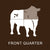 Richards Grassfed Beef Front 1/4 Steer Pack; Currently out of stock but can pre-order
