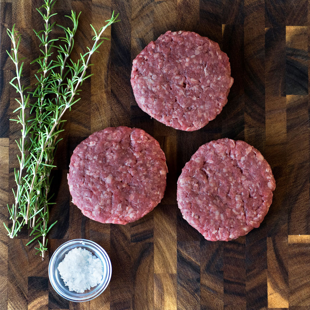 Richards Grassfed Beef 6oz Patties - 24 Patties