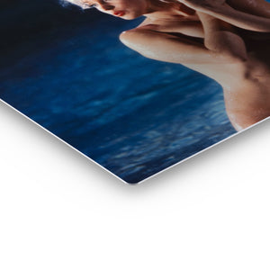 Marilyn Monroe Naked in the Pool Iconic Wall Art Canvas Prints Metal Prints