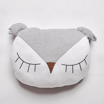 Sleeping Owl Nordic Style Pillow