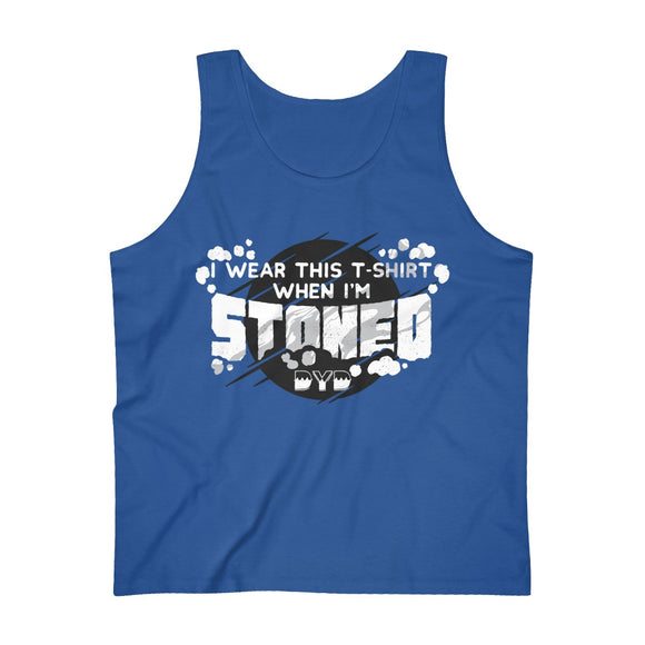Stoned Men's Tank Top - 7 Colors
