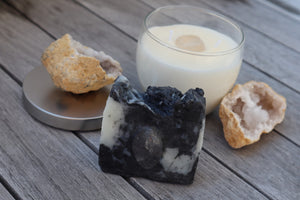 Cleanse: Clear Quartz Soap and Candle Set