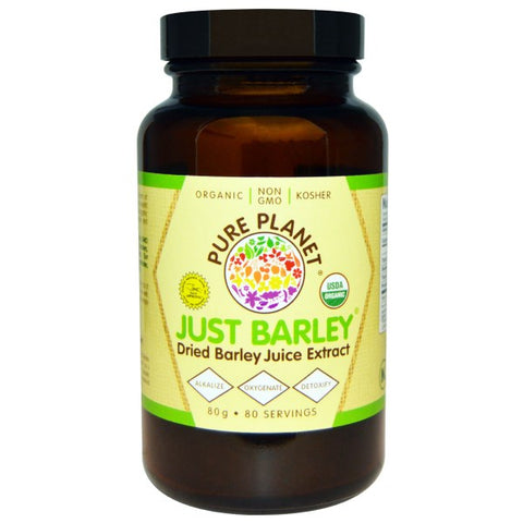 Just Barley Grass Juice Organic Powder