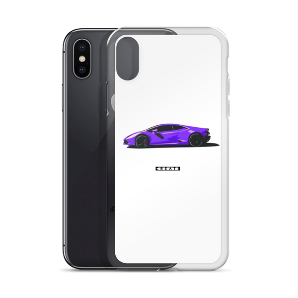 Purp Huracan iPhone Case
