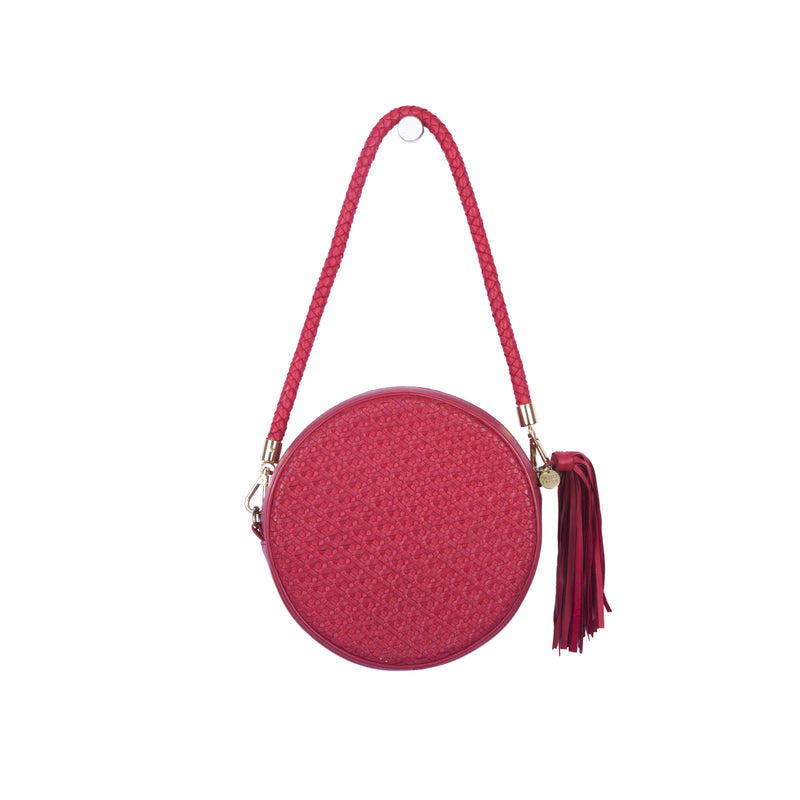 Moyo Drum Bag – Tomato Red
