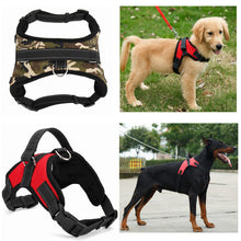 Nylon Heavy Duty Dog Pet Harness Collar K9 Padded Harnesses Vest Husky Dogs Supplies
