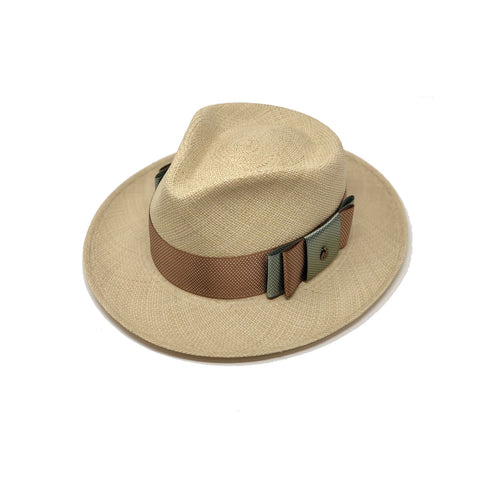 Double Crevate Genuine Panama Hat
