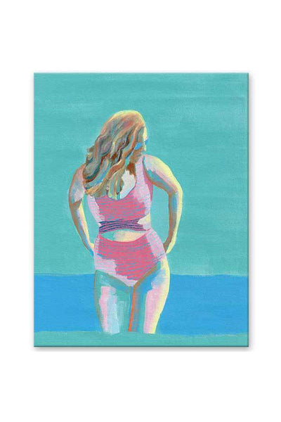 original painting - canvas art - body positive art- beach scene - turquoise - flavia bernardes art.jpg