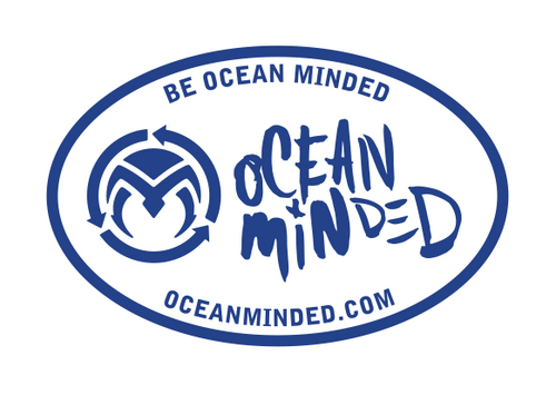 Be Ocean Minded Oval