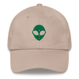 Alien Head Dad Hat - Alien Love Child