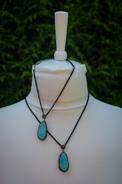 Turquoise Dreams necklace | Mama & Me