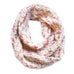Winter Scarves / Girls - Cream Infinity  - M0369