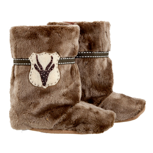 Boot / Unisex - Taupe Fur and Bokkie - M0215