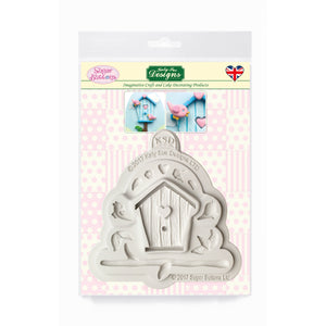 C&D - Birdhouse Sugar Buttons Silicone Mould pack shot