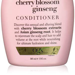 Organix Rejuvenating hair blossom ginseng conditioner - 13 oz