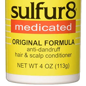Sulfur-8 Original Hair & Scalp Conditioner - 4 oz