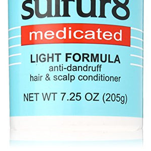 Sulfur - 8 Conditioner Light Formula, Anti - dandruff - 7.25 OZ