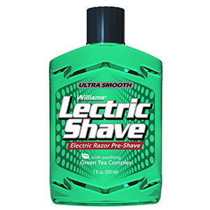 Williams Lectric Shave Pre Electric Shave Lotion Regular - 7 Oz