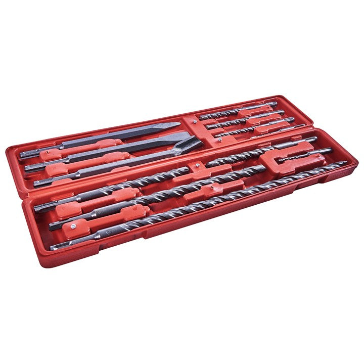 12pc SDS Chisel And Drill Set