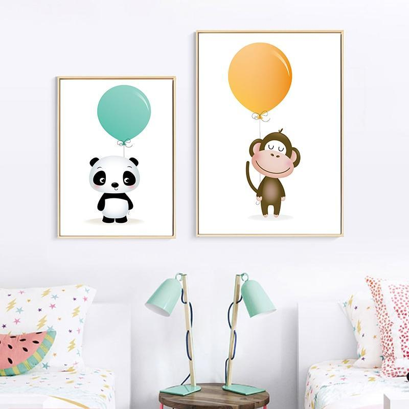 Minimalist Watercolor Balloon
