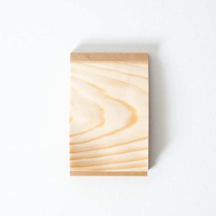 Kizara Wood Sheet Notepad
