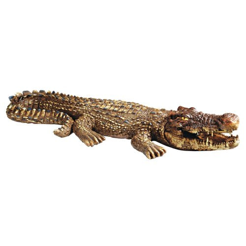 Alligator/ Crocodile Piped Spitting Statue
