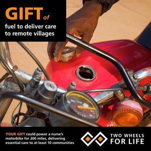 Fuel to deliver care to remote villages