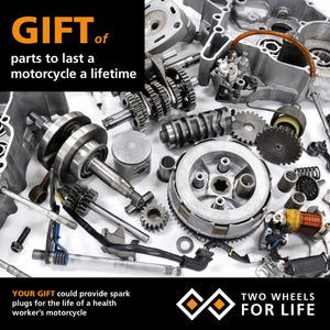 Parts for the lifetime of a motorcycle