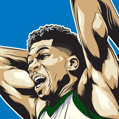 Giannis Close Up