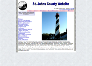 St Johns County - CountyWebsite.com